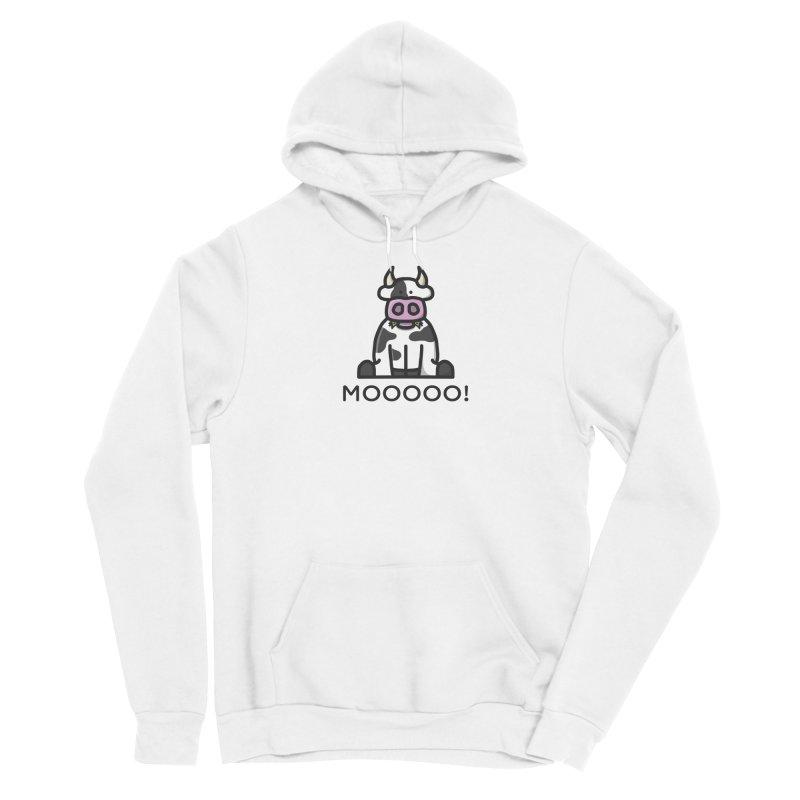 Moooo! Men's Pullover Hoody by dylankwok's Artist Shop