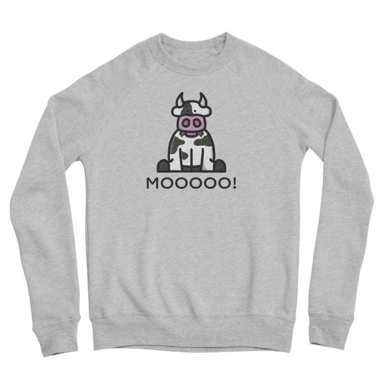 Moooo! Men's Sweatshirt by dylankwok's Artist Shop