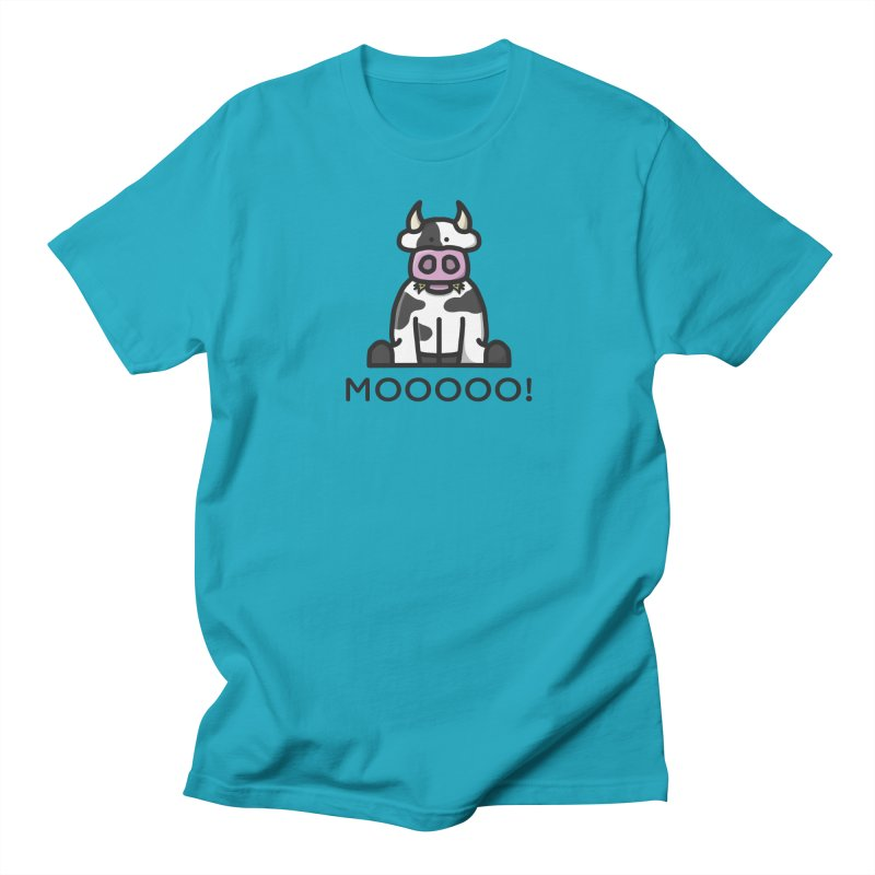 Moooo! Men's T-Shirt by dylankwok's Artist Shop