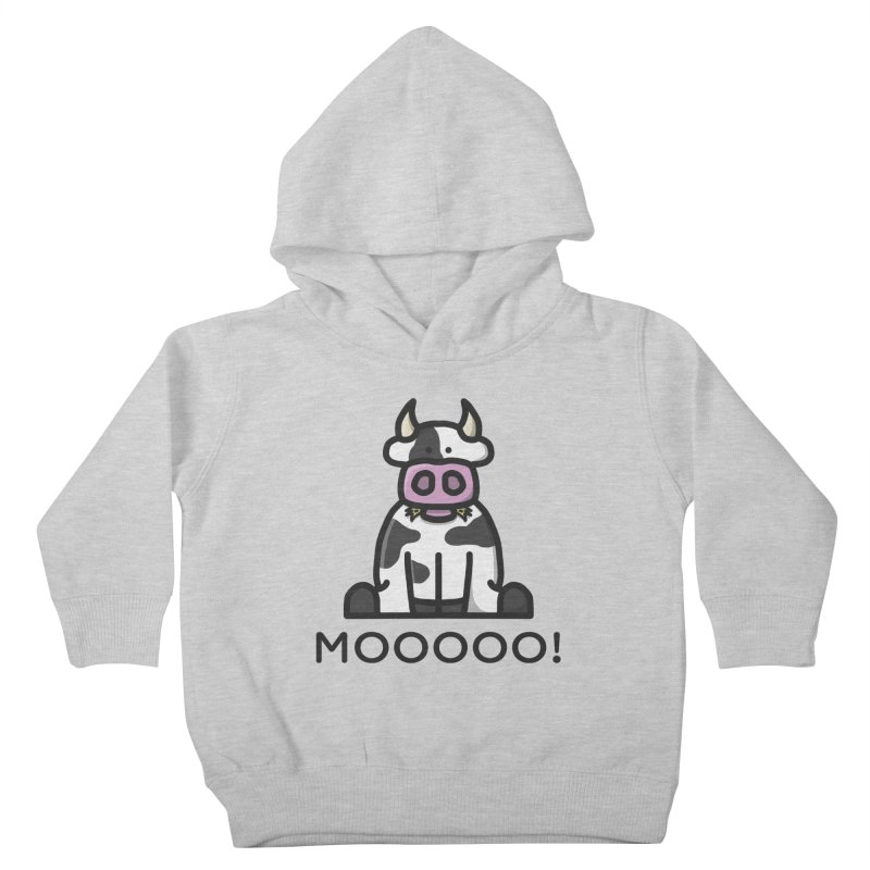 Moooo! Kids Toddler Pullover Hoody by dylankwok's Artist Shop
