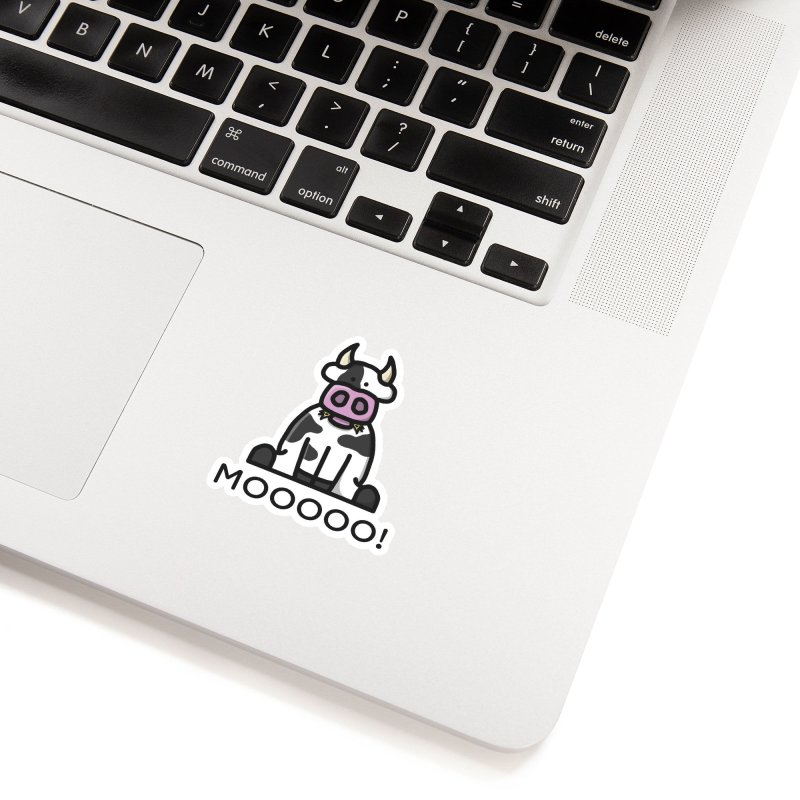 Moooo! Accessories Sticker by dylankwok's Artist Shop