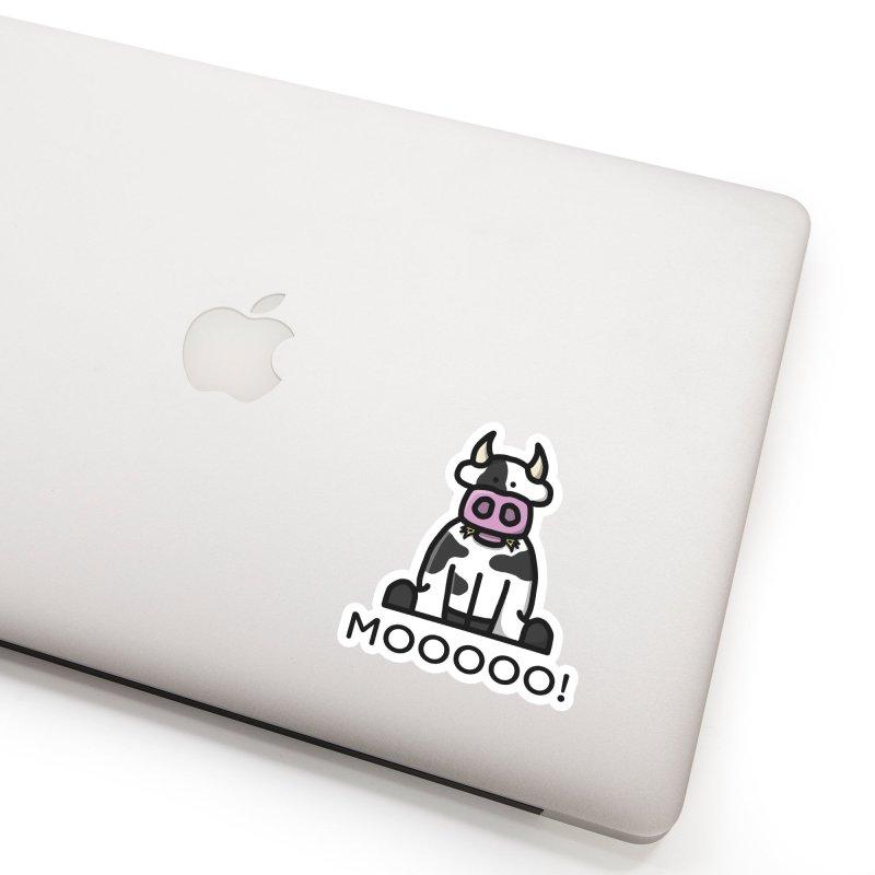 Moooo! Accessories Sticker by dylankwok's Artist Shop