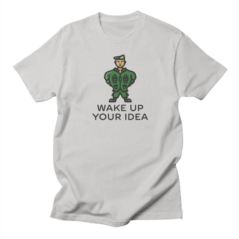 Wake Up Your Idea Men's T-Shirt by dylankwok's Artist Shop