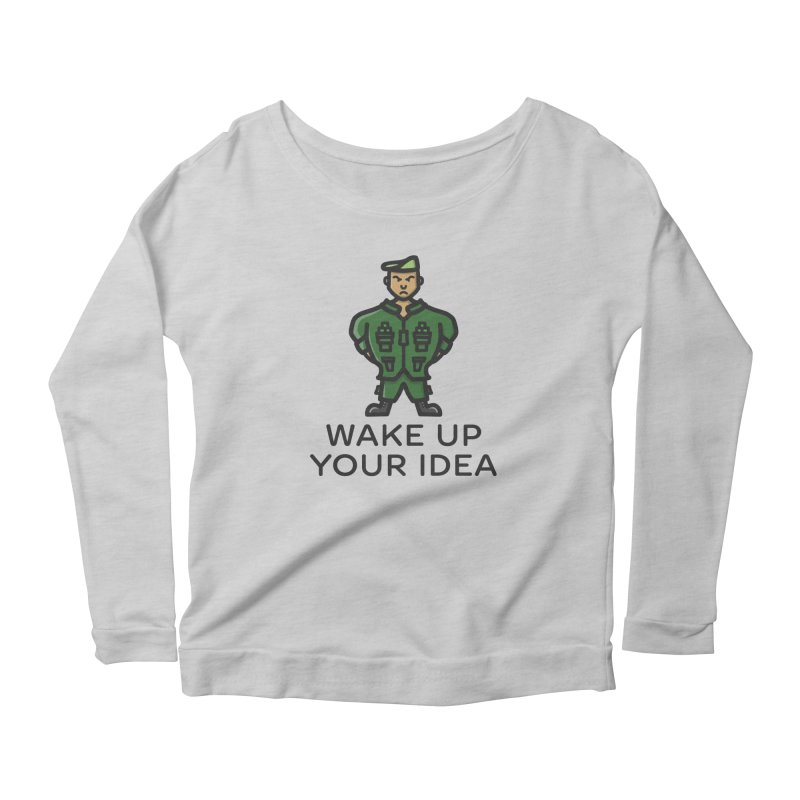 Wake Up Your Idea Women's Longsleeve T-Shirt by dylankwok's Artist Shop