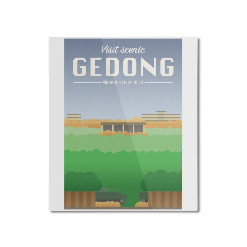 Visit Scenic Gedong Home Mounted Aluminum Print by dylankwok's Artist Shop