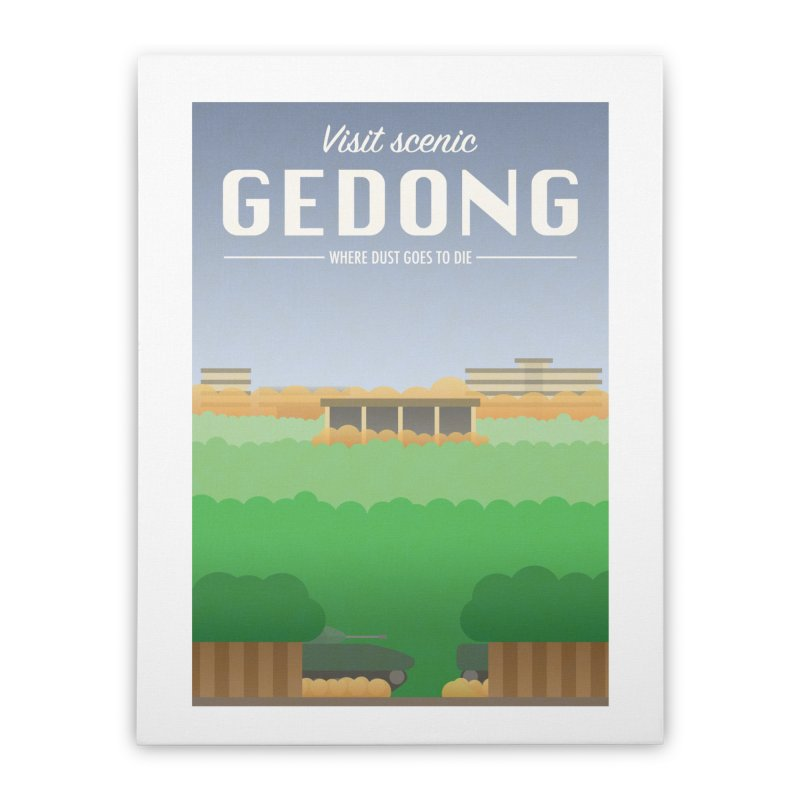 Visit Scenic Gedong Home Stretched Canvas by dylankwok's Artist Shop