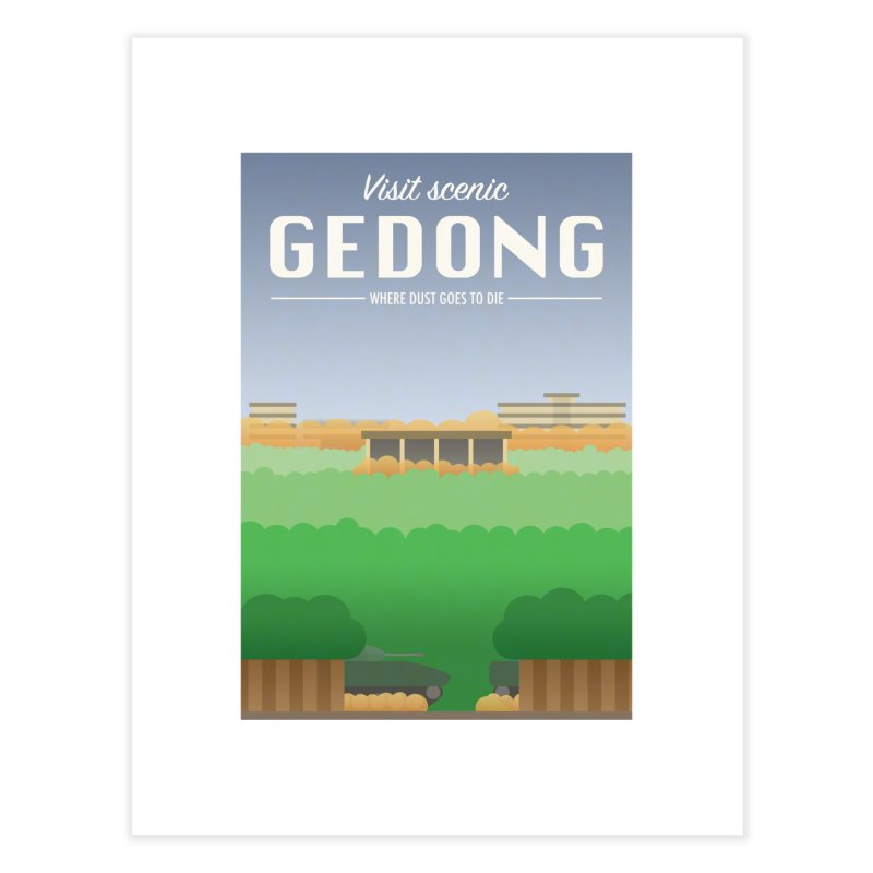 Visit Scenic Gedong Home Fine Art Print by dylankwok's Artist Shop