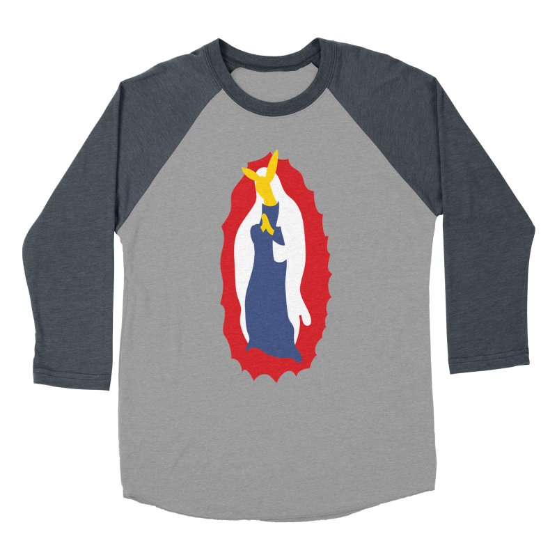 Our Lady Bunnylupe Women's Baseball Triblend Longsleeve T-Shirt by dylanreed's Artist Shop