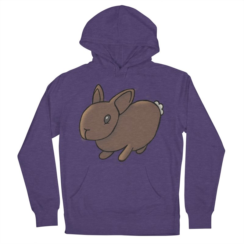 Rabbit Men's French Terry Pullover Hoody by dylanreed's Artist Shop