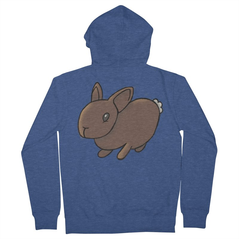 Rabbit Women's Zip-Up Hoody by dylanreed's Artist Shop