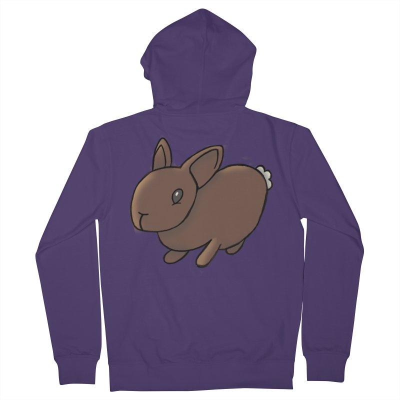 Rabbit Women's Zip-Up Hoody by dylanreed's Artist Shop