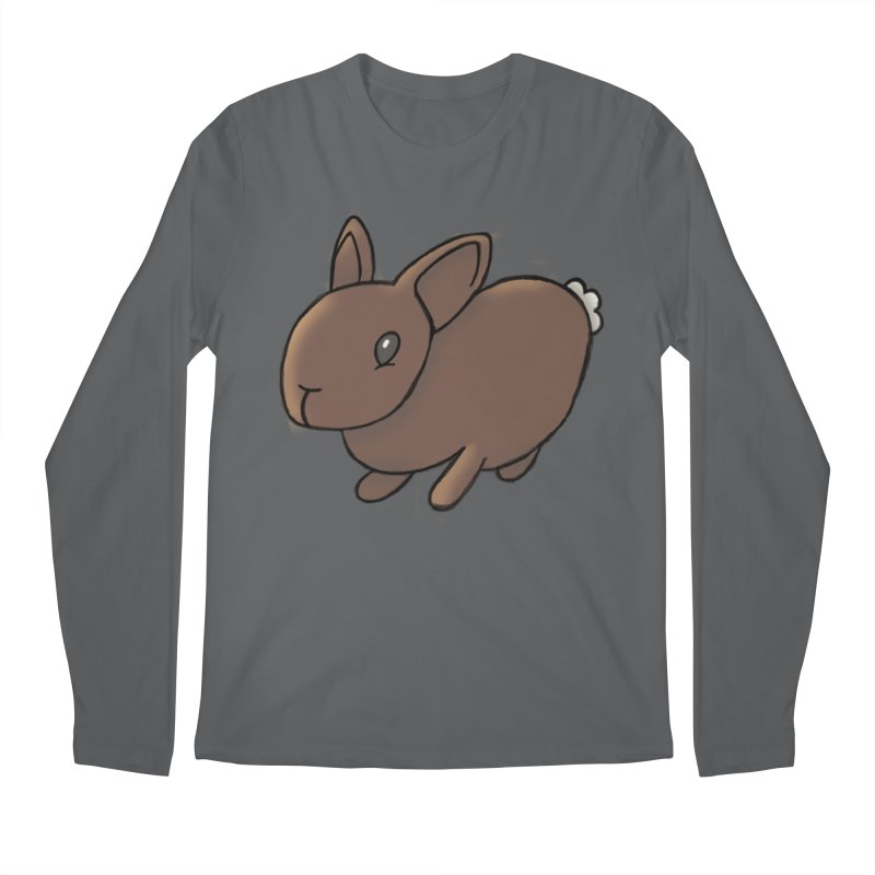 Rabbit Men's Longsleeve T-Shirt by dylanreed's Artist Shop