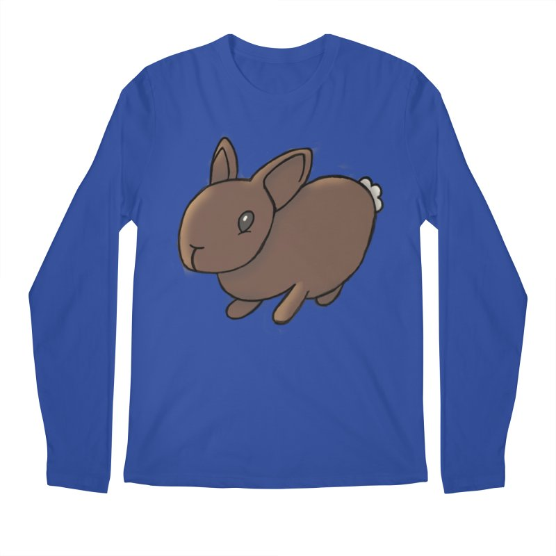 Rabbit Men's Regular Longsleeve T-Shirt by dylanreed's Artist Shop