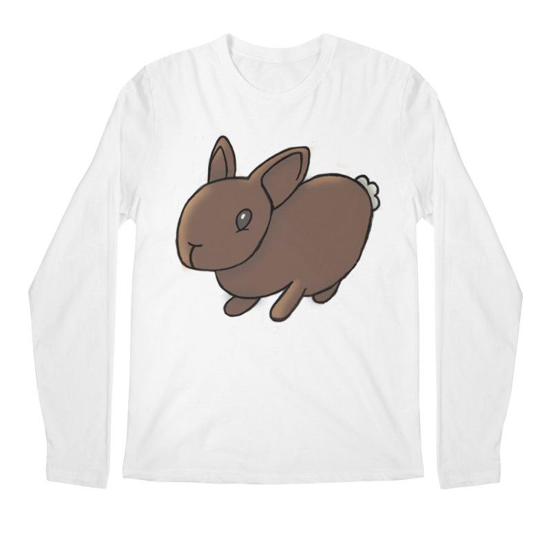Rabbit Men's Regular Longsleeve T-Shirt by dylanreed's Artist Shop