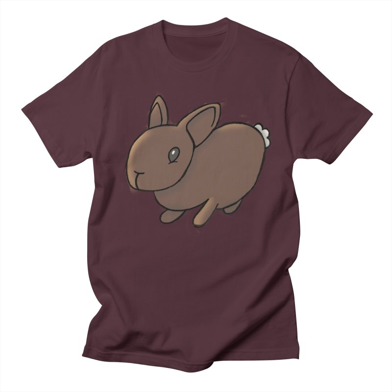 Rabbit Men's T-Shirt by dylanreed's Artist Shop
