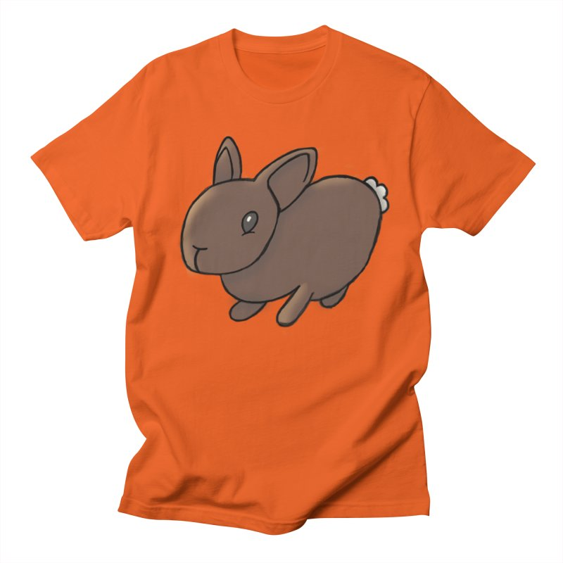 Rabbit Men's Regular T-Shirt by dylanreed's Artist Shop