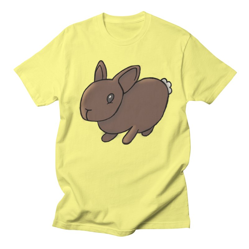 Rabbit Men's Regular T-Shirt by dylanreed's Artist Shop