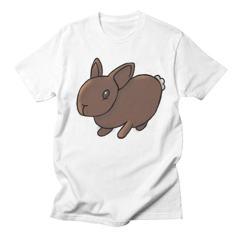 Rabbit Men's T-shirt by dylanreed's Artist Shop