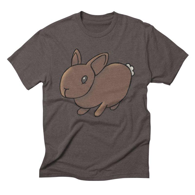 Rabbit Men's Triblend T-shirt by dylanreed's Artist Shop