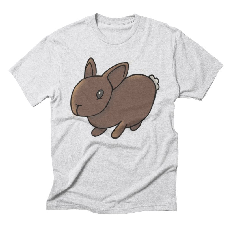 Rabbit Men's Triblend T-Shirt by dylanreed's Artist Shop