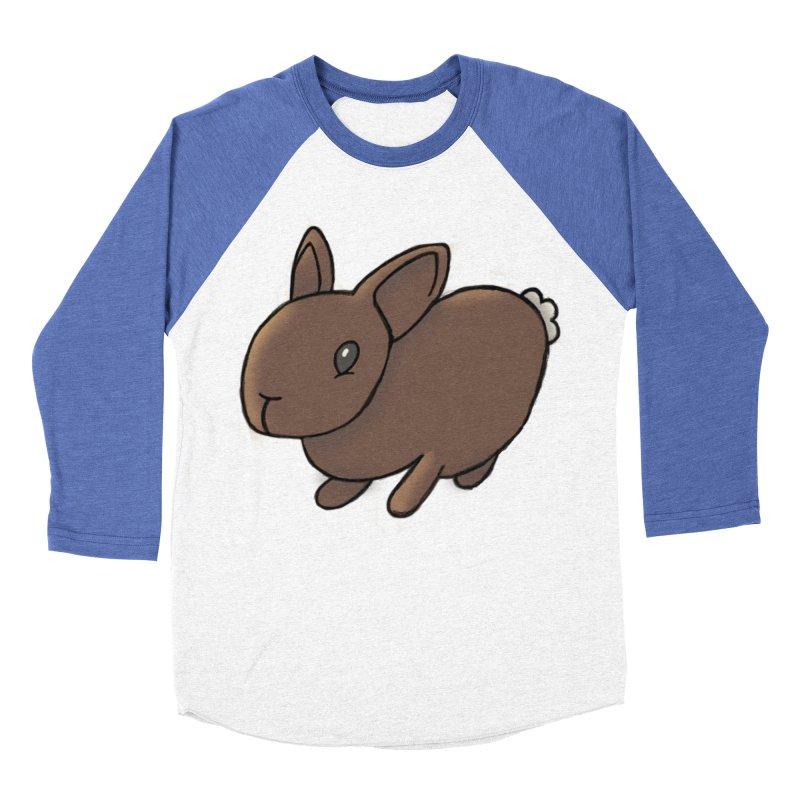 Rabbit Women's Baseball Triblend T-Shirt by dylanreed's Artist Shop