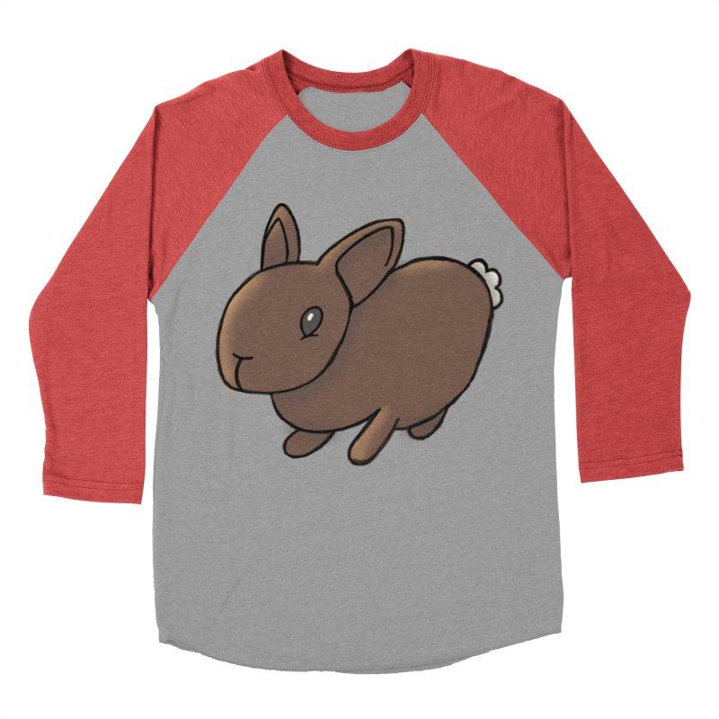 Rabbit Men's Baseball Triblend T-Shirt by dylanreed's Artist Shop