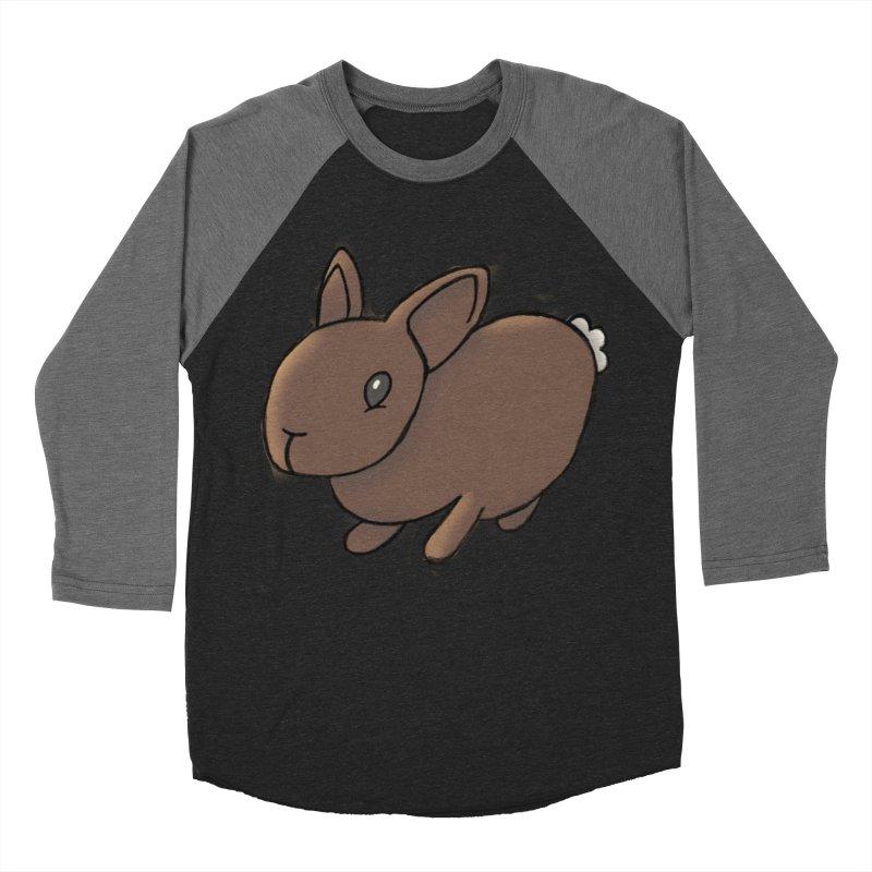 Rabbit Men's Baseball Triblend Longsleeve T-Shirt by dylanreed's Artist Shop