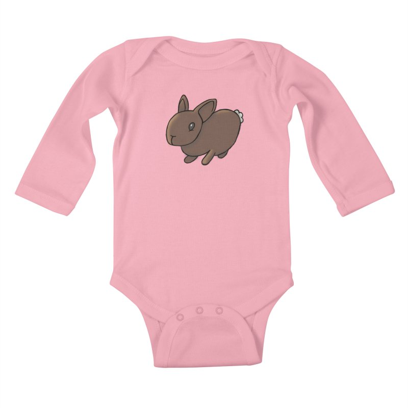 Rabbit Kids Baby Longsleeve Bodysuit by dylanreed's Artist Shop