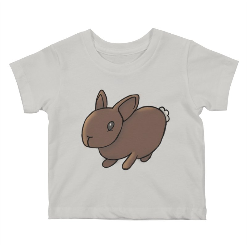 Rabbit Kids Baby T-Shirt by dylanreed's Artist Shop