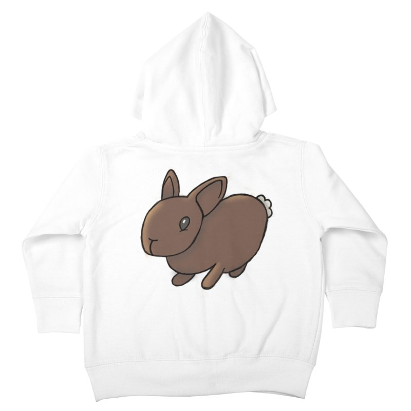 Rabbit Kids Toddler Zip-Up Hoody by dylanreed's Artist Shop