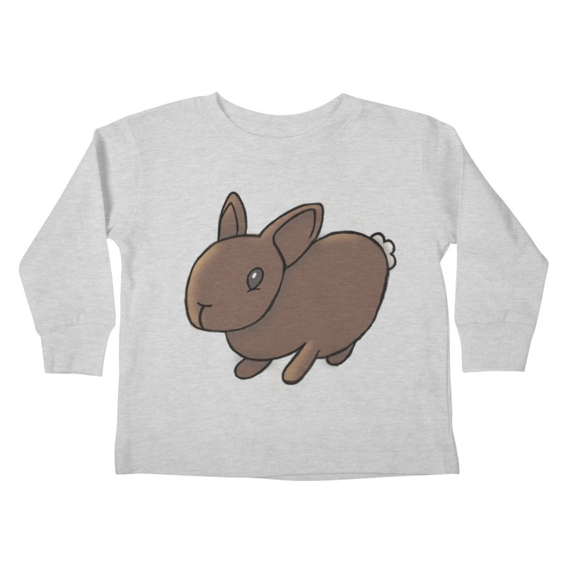 Rabbit Kids Toddler Longsleeve T-Shirt by dylanreed's Artist Shop