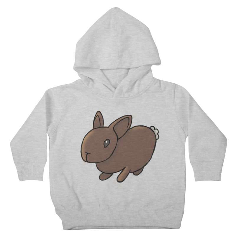 Rabbit Kids Toddler Pullover Hoody by dylanreed's Artist Shop