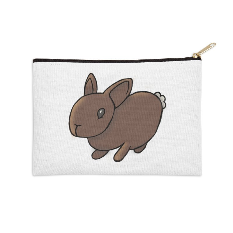 Rabbit Accessories Zip Pouch by dylanreed's Artist Shop