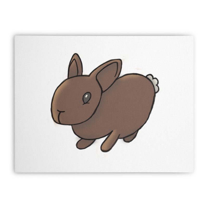 Rabbit Home Stretched Canvas by dylanreed's Artist Shop
