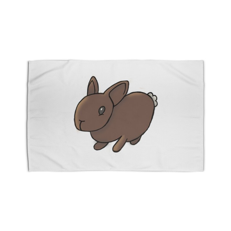 Rabbit Home Rug by dylanreed's Artist Shop