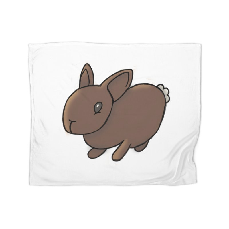 Rabbit Home Blanket by dylanreed's Artist Shop