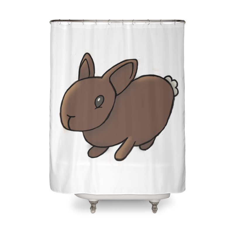 Rabbit Home Shower Curtain by dylanreed's Artist Shop