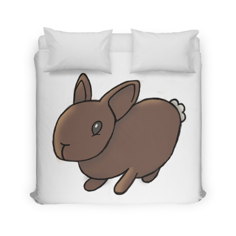 Rabbit Home Duvet by dylanreed's Artist Shop