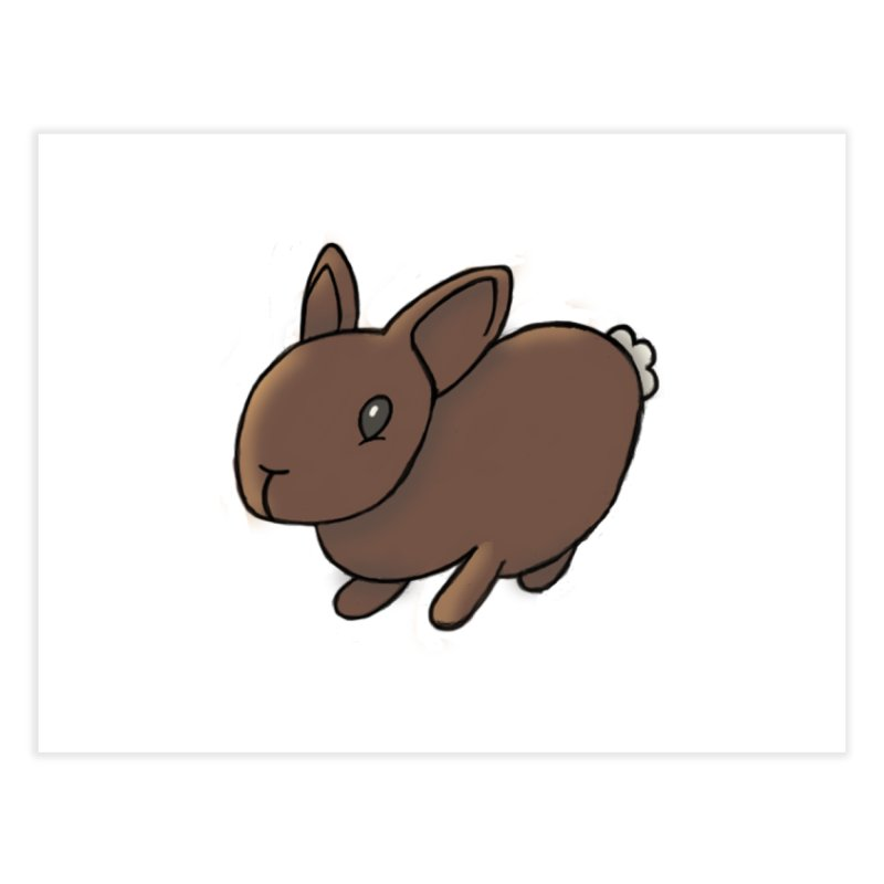 Rabbit Home Fine Art Print by dylanreed's Artist Shop