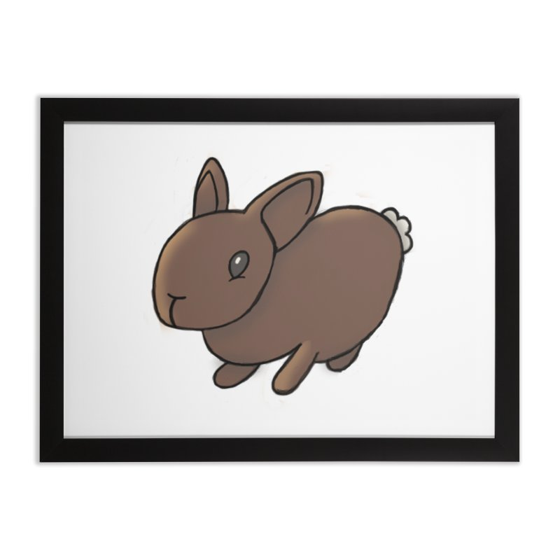 Rabbit Home Framed Fine Art Print by dylanreed's Artist Shop