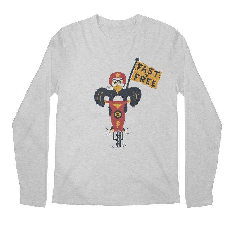FAST & FREE Men's Longsleeve T-Shirt by DYLAN'S SHOP
