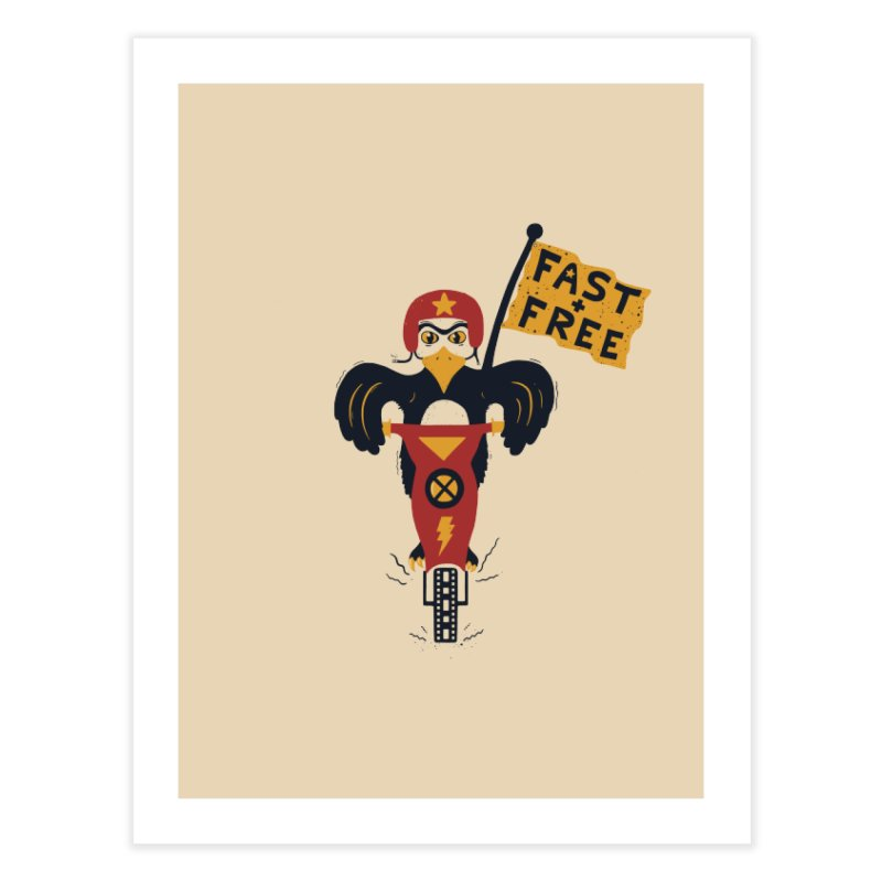 FAST & FREE Home Fine Art Print by DYLAN'S SHOP