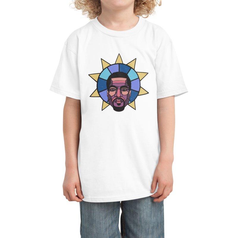 PRA/SE YEEZUS Kids T-Shirt by DYLAN'S SHOP