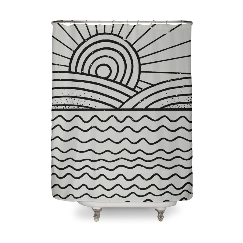LANDL/NES Home Shower Curtain by DYLAN'S SHOP