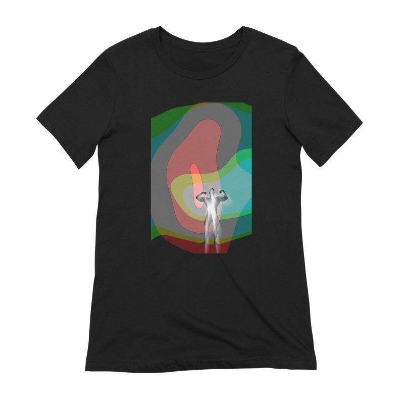The Bodybuilder's Dream Women's Extra Soft T-Shirt by Korok Studios Artist Shop
