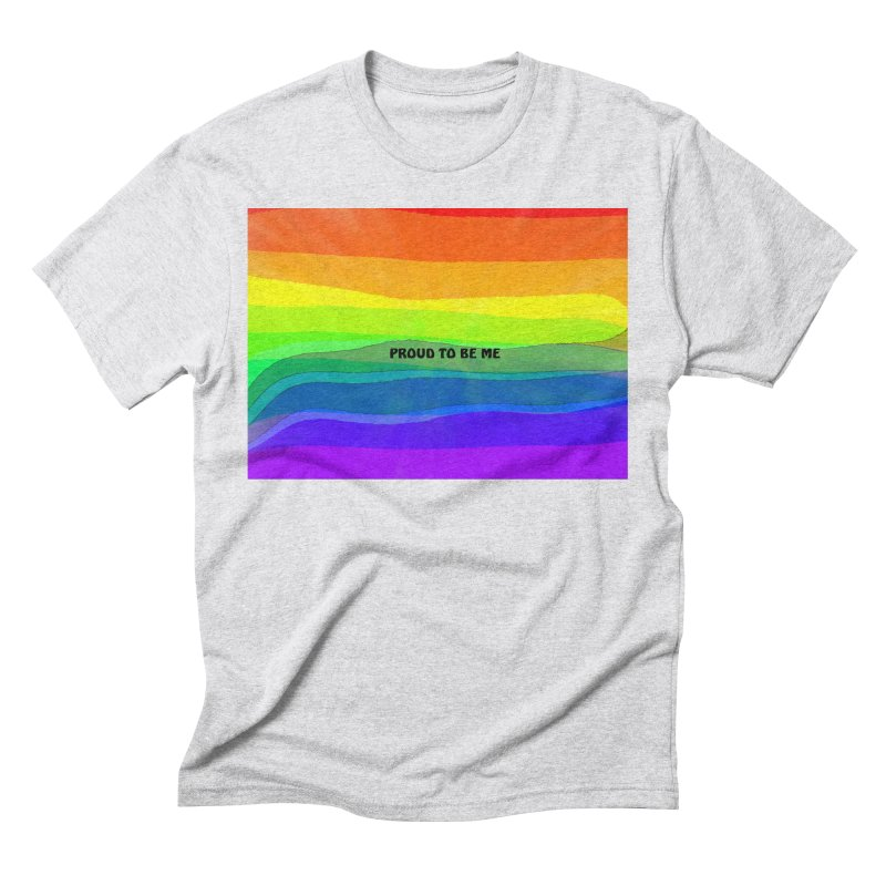 Proud To Be Me Men's T-Shirt by Korok Studios Artist Shop