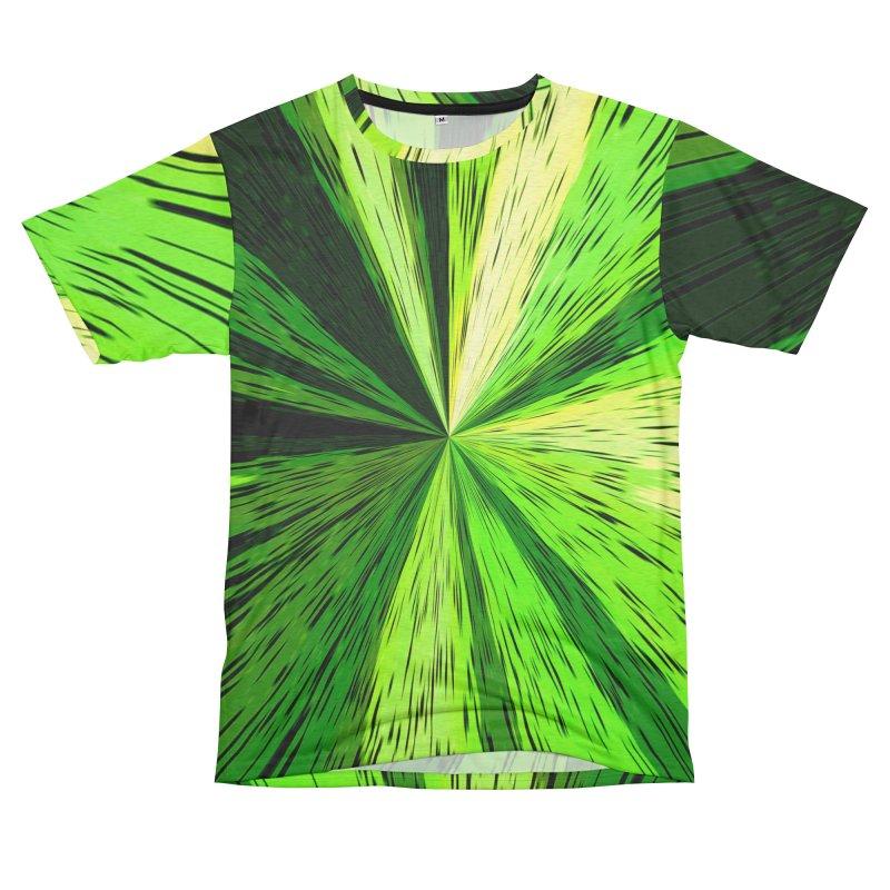Green Zoom Green Men's Cut & Sew by Korok Studios Artist Shop