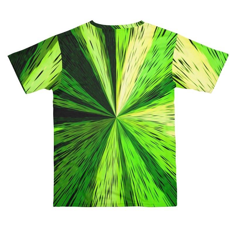 Green Zoom Green Men's Cut & Sew by Korok Studios Artist Shop
