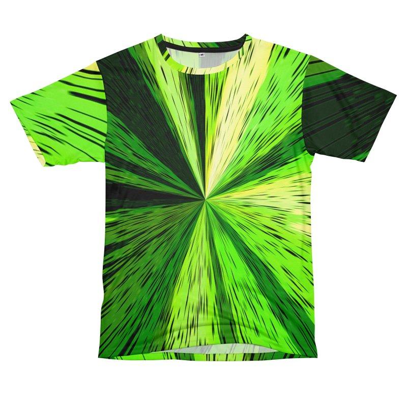 Green Zoom Green Women's Cut & Sew by Korok Studios Artist Shop