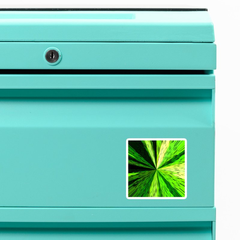 Green Zoom Green Accessories Magnet by Korok Studios Artist Shop